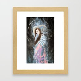 catch your dreams Framed Art Print