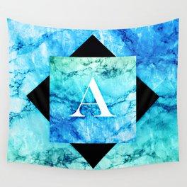 A - Monogram Vivids Wall Tapestry