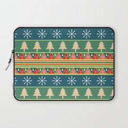 Christmas pattern II Laptop Sleeve