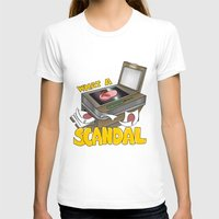 scandal T-shirts featuring Scandal by MinaLotToMe