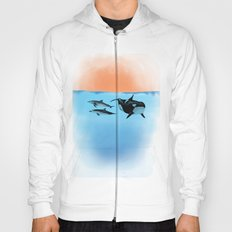 Orca and Dolphin Hoody