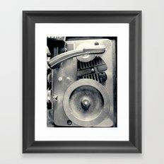 Turntable Framed Art Print