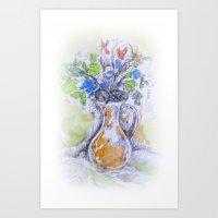 Fizzy Pot Art Print