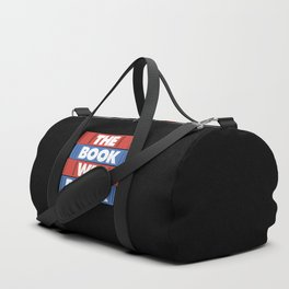 The book was better Duffle Bag
