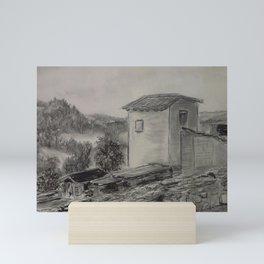 Puycelci Tower MM150707p Mini Art Print