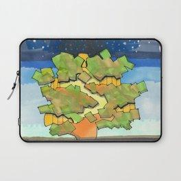 Starry Sky at Night Tree House 25 Laptop Sleeve