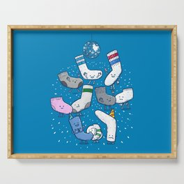 Lost Sock Party Serving Tray