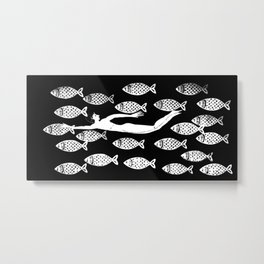 The joy of the fishes Metal Print