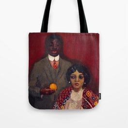 African American Portrait Masterpiece 'Lucie and Her Partner' by Kees van Dongen Tote Bag