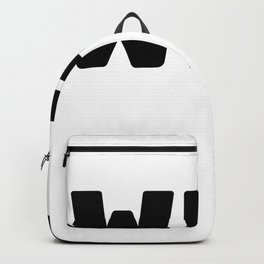 WFH, Working From Home Backpack