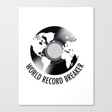 World Record Breaker Canvas Print