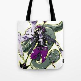 Rockabilly Athena Tote Bag
