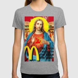 "Jesus ""I'm Loving It"" Aesthetic T-shirt"