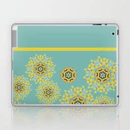 bee's flower down Laptop & iPad Skin