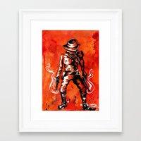 western Framed Art Prints featuring Western by Tom Ryan