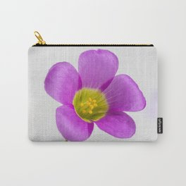 purple oxalis flower Carry-All Pouch