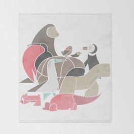 Galapagos Throw Blanket