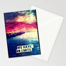 We have no limits - for iphone Stationery Cards
