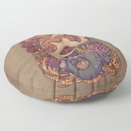 Andersen Little Mermaid Nouveau Floor Pillow
