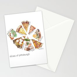 Slices of Pittsburgh Stationery Cards