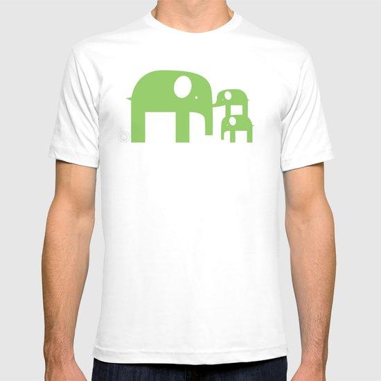 Green Elephants T-shirt