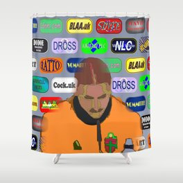 The Interview 02 Shower Curtain