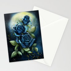 Night Roses Stationery Cards