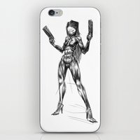 sketch iPhone & iPod Skins featuring SKETCH by Daniele Vittadello