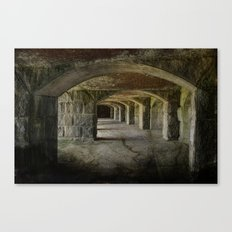 The Tunnels Canvas Print