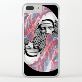 To Lie In Cold Obstruction And To Rot Clear iPhone Case