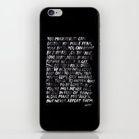 random iPhone & iPod Skins featuring Random by WRDBNR