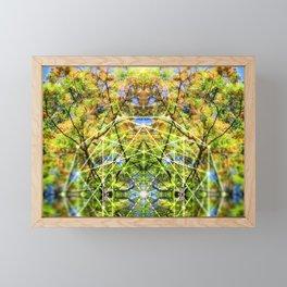 GeoBotanica V2 Framed Mini Art Print