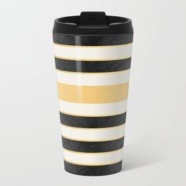 Marble stripes Metal Travel Mug