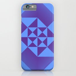 Abstract Triangles - Cosmic iPhone Case