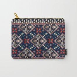 Ukrainian folk seamless pattern ornament Carry-All Pouch