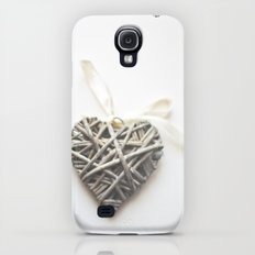 Wicker Heart  Galaxy S4 Slim Case