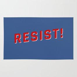 Resist Injustice! Rug