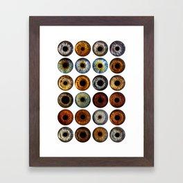 All EYES On YOU Framed Art Print