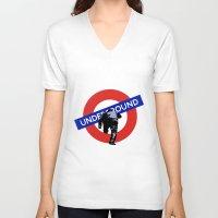 velvet underground V-neck T-shirts featuring Underground by Revolve Production