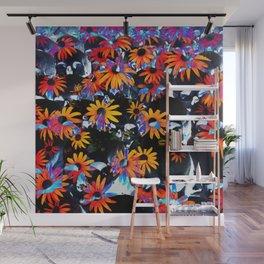 skullflowers Wall Mural
