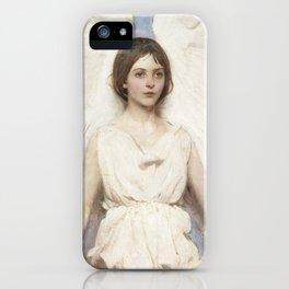 Angel by Abbott Handerson Thayer iPhone Case