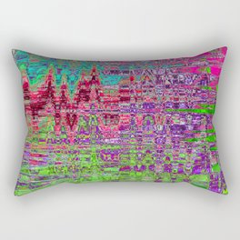 FORTY  SECONDS AFTER UNIVERSE SEVEN FORMED FROM THE VOID Rectangular Pillow