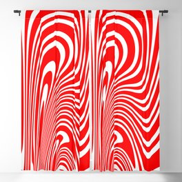 Candy Cane Blackout Curtain