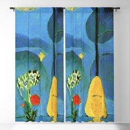 Henri Matisse Blue Window Blackout Curtain