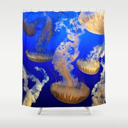Sea Nettles Shower Curtain