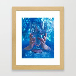 Ace of Cups Framed Art Print