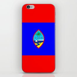 Guam country flag iPhone Skin