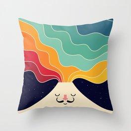 Keep Think Creative Throw Pillow