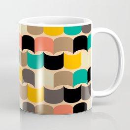 Retro abstract pattern Coffee Mug