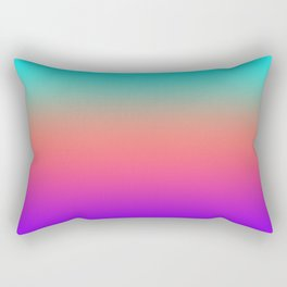 Sunset shades on the sea Rectangular Pillow